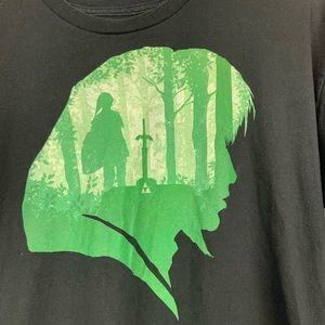Zelda's Link Tee Shirt size L